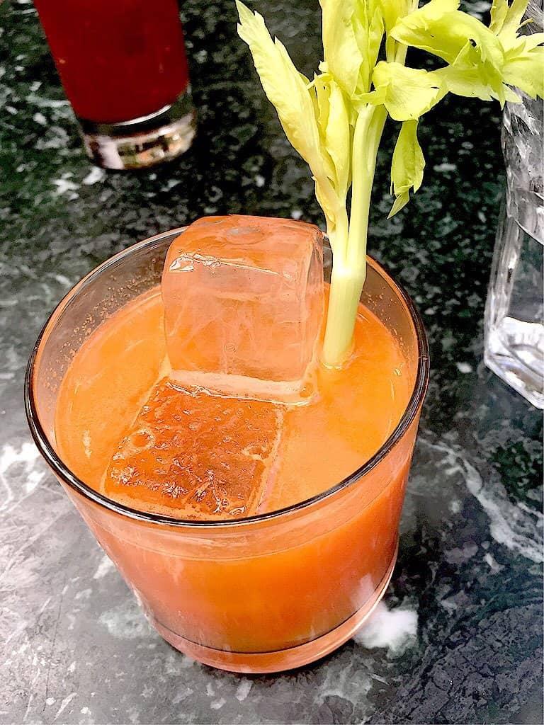 Fresh Start brunch cocktail from Juliette in Williamsburg