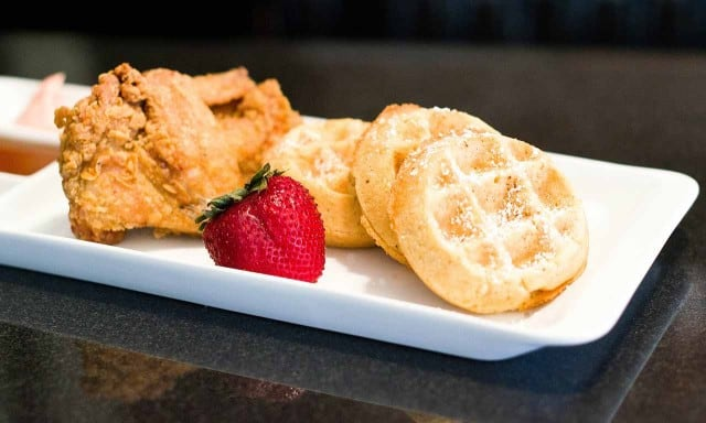 chicken-and-waffles from Melba's