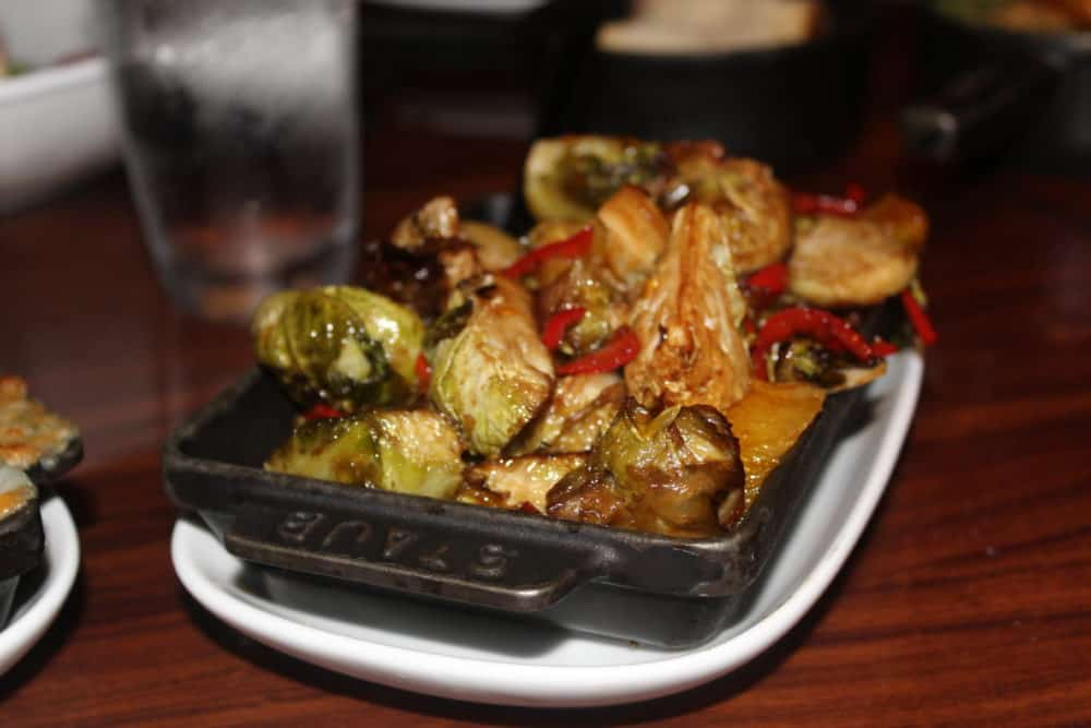 Brussels Sprouts @ STK