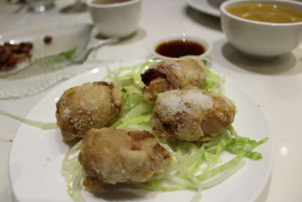 Crispy Bacon with Stuffed Shrimp Roll @ Bite of Hong Kong