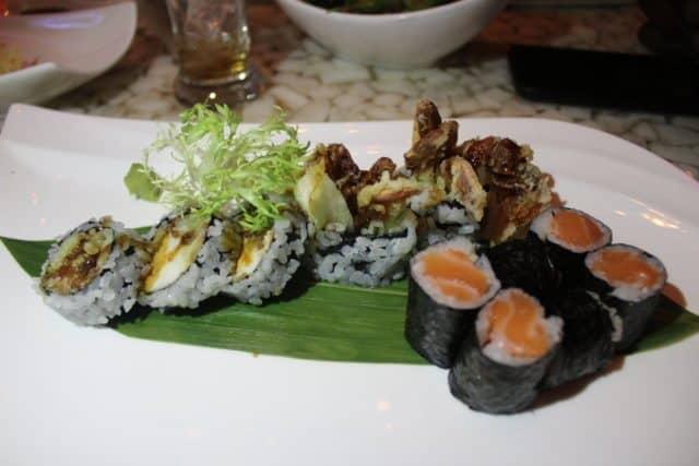 Dragon Roll & Salmon Roll