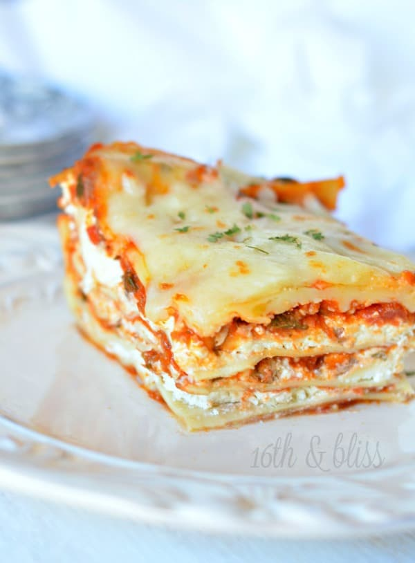 Cream Cheese Lasagna